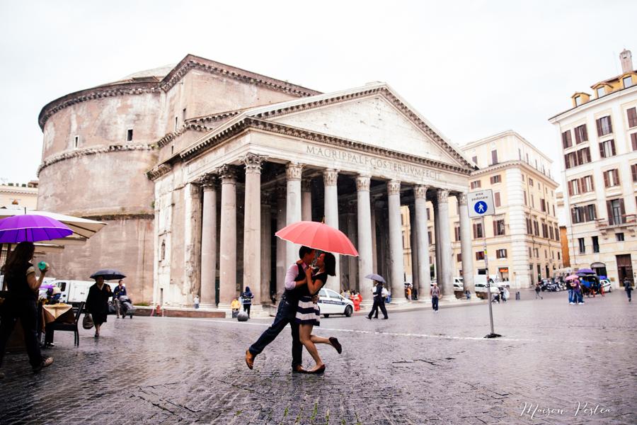 Bulan Madu Romantis di Roma, Italia
