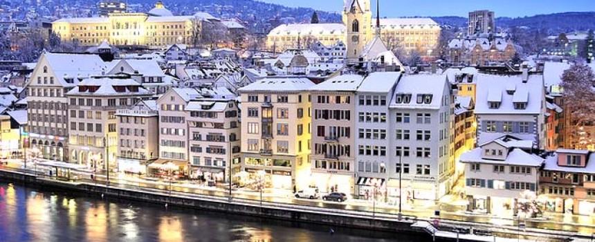Bulan Madu Romantis di Zurich, Swiss