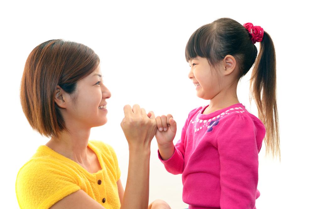 Berusaha menepati janji pada anak