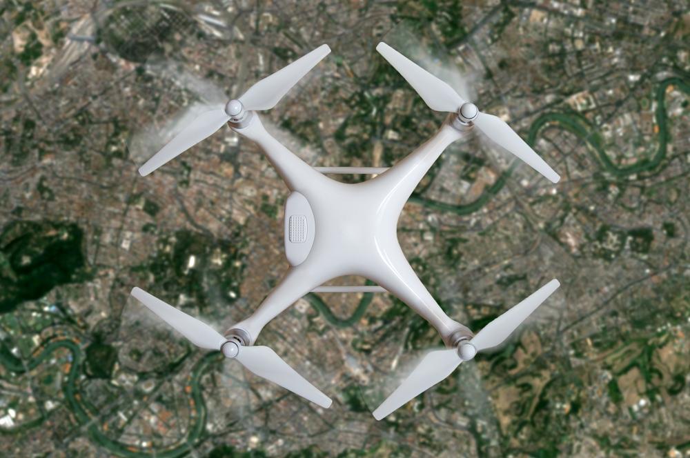 Manfaat drone untuk membantu melakukan pemetaan wilayah