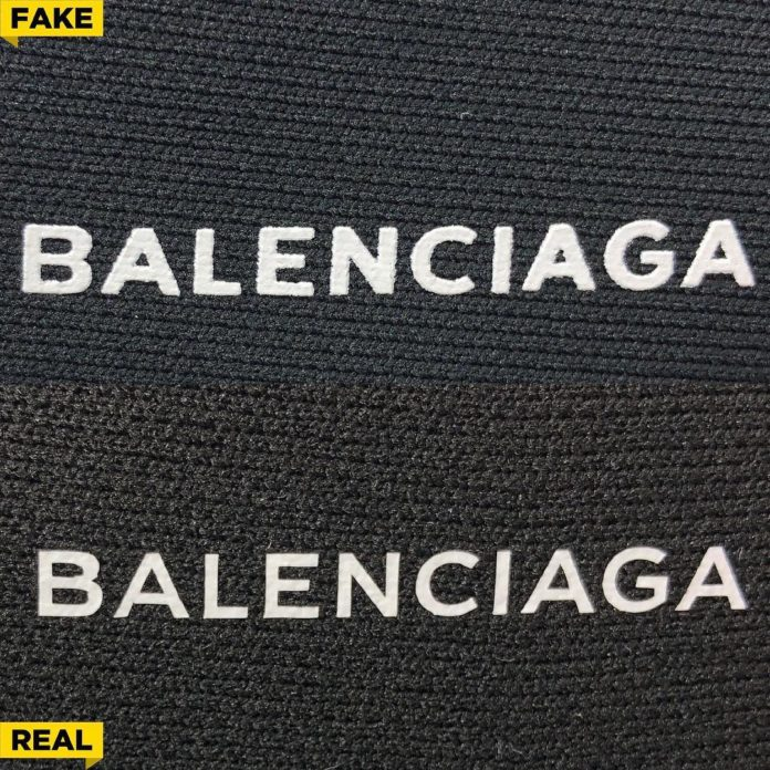 Balenciaga Ori vs KW -1