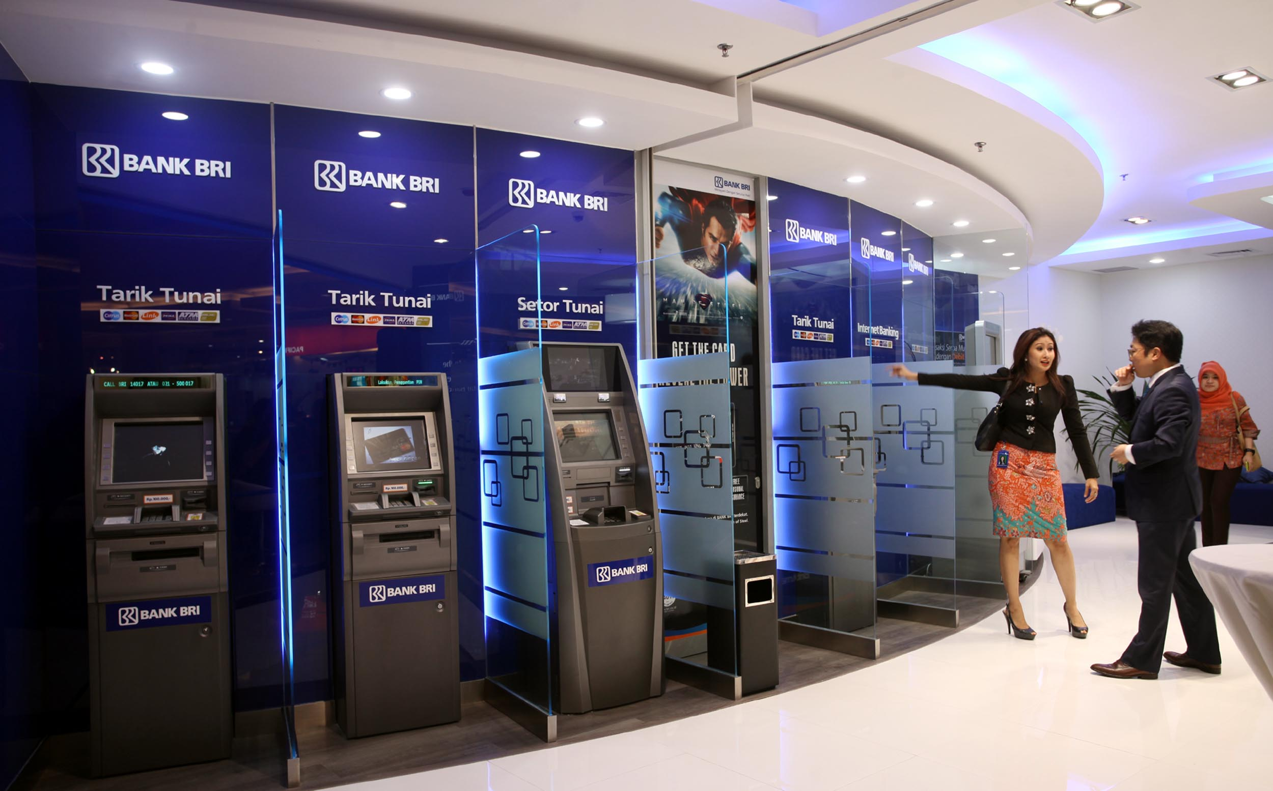 Pilihlah Bank yang memiliki banyak jaringan ATM