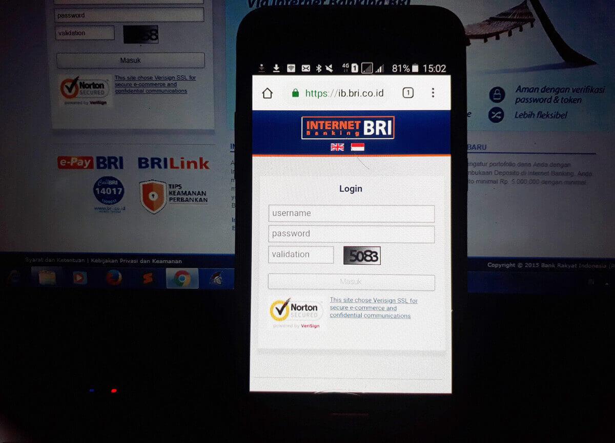 Pilihlah Bank yang sudah mendukung fasilitas internet banking